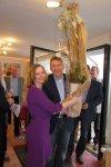 Tanja Bach und Patrik Lauer